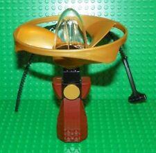 LEGO - Mini Figure Flyer - Capsule w/ Handle & Vortex Rotor - PICK YOUR COLOR !!