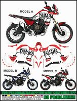 stickers kit stickers compatible TENERE 700 T7 SIGN