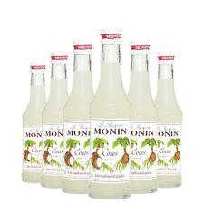 Monin Sirup Cocos, 0,25L, 6er Pack