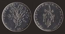 VATICANO 50 LIRE 1973 - PAOLO VI - FDC/UNC FIOR DI CONIO
