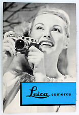Original Leica If, IIf, & IIIf Sales Brochure - Leitz NY - 6 pages -  Feb. 1953