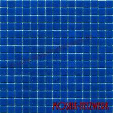 Mosaik dunkelblau Glasmosaik Fliese Schwimmbadmosaik Badmosaik Art:200-A16 | 1qm