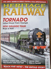 HERITAGE RAILWAY THE COMPLETE STEAM NEWS MAGAZINE ISSUE 134 FEBRUARY 18 2010