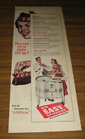 1949 Vintage Ad Easy Spindrier Washers with Automatic Spin-Rinse