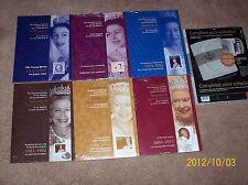 CANADA 2012 Diamond Jubilee Queen Elizabeth II Stamps Volume 1-6 & Stamps Album