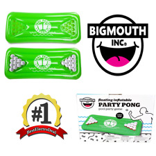 Pool Party Pong Game - 6 feet Inflatable BigMouth Green Adult Water Game