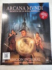 Libro Rol,Arcana Mundi,Adrian T.Rodriguez,Ed.Nosolorol