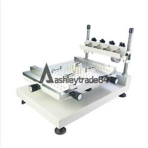 3040 Stencil Printer Manual Solder Paste Printing Machine 300x400mm