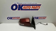 17 2017 GMC TRAVERSE PASSENGER RIGHT EXTERIOR SIDE VIEW MIRROR PAINTED MAROON