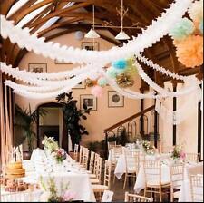 Hängende Papiergirlanden Flora Kette Hochzeit Decke Banner Dekoration  CM