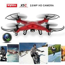 Syma X5C 2.4GHz 4CH 6-Axis Remote RC Quadcopter with 2.0MP HD Camera I3D4