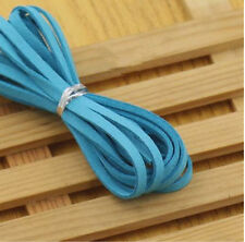 Hot DIY Making 5yd 3mm Suede Leather String Jewelry Making Thread Cords