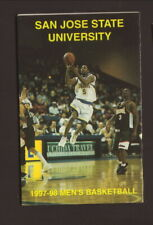 San Jose State Spartans--1997-98 Basketball Pocket Schedule