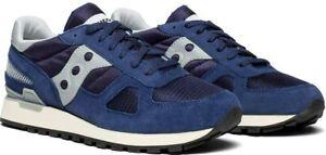 New Men's Saucony Shadow Original Vintage Shoes Size 7-14 Black Navy Gray S70424