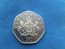 2013  CHRISTOPHER IRONSIDE  FIFTY PENCE COIN