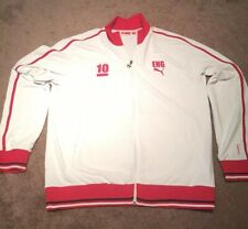 Puma England Tracksuit Jacket #10 Size XL Red/White. Brand New. NWOT. MSRP $100