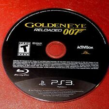 GoldenEye 007: Reloaded (Sony PlayStation 3, 2011) Disc Only # 5284