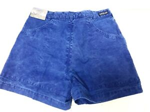 Vintage 1993 Patagonia Stand Up Shorts - NOS DEADSTOCK - Stone Wash Blue 36