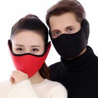 Men Riding Cotton Women Muffs Masks Earmuffs Ear Mouth Protection Ear Warmers