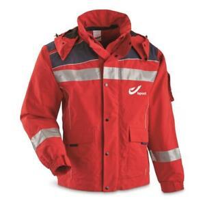 New Belgian Mailman Surplus GORE-TEX Rain Jacket, Multiple Sizes Red