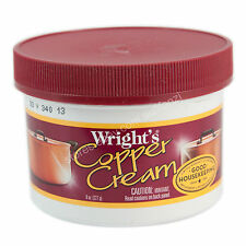 Wright's Copper Cream Cleaner and Polish 8oz (227g)