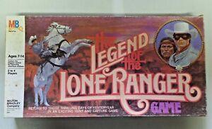 Vintage Milton Bradley The Legend of the Lone Ranger Game Complete 4108 1980