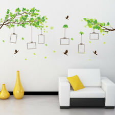 Photo Frame Tree Wall Sticker Decal Bird Picture Home Improvement Bedroom Decor