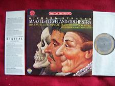 Richard Strauss-Maazel Cleveland Orchestra CBS MASTER SOUND LP