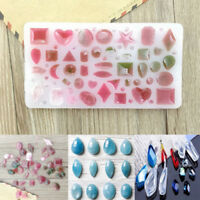 Silicone DIY Cabochon Mold Making Jewelry Pendant Resin Casting Mould Craft Tool