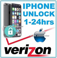 VERIZON Unlock Code Service iPhone 5 5C 5S 6 6+ 6S  FAST! FAST!  100% GUARANTEED