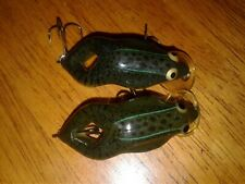 lot of 2 Rebel Shallow Floater Frog Lures - Baits