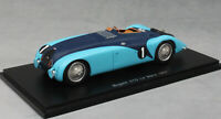 Spark Bugatti 57G 'Tank' Le Mans 24 hour 1937 Veyron and Fabric S2736 1/43 NEW