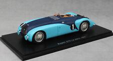 Spark Bugatti 57G 'Tank' Le Mans 24 hour 1937 Veyron and Fabric S2736 1/43 NEW