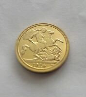 George V 1914 Gold Plated Sovereign Coin Pack