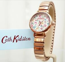 CATH KIDSTON Watch Provence Rose Gold Expander bracelet watch RRP £79 !