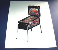 Truck Stop Pinball Machine Color Press Promo Game Photo Original Bally NOS 1988