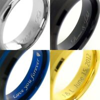 Laser Engraving Charge for Inside of Tungsten Ring Tommyway