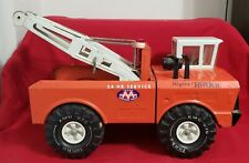 Mighty Tonka Wrecker Truck Vintage AAA 24 Hour Tow Truck Vintage Metal Toy