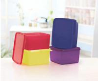 New Tupperware Keep Tab Medium Storage Container 1.2 Litre (Set of 2) BPA Free