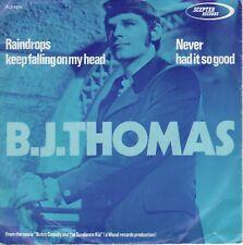 7inch B.J. THOMASraindrops keep falling on my headHOLLAND EX+  (S2459)