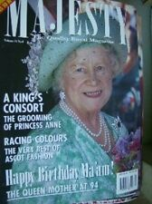 Majesty Magazine Royal Portraits, Charles In Prague V15 #8 August 1994