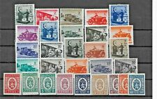 Bulgaria 1941 to 1944 Parcel Post Stamps Mnh *