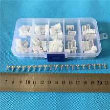 JST 2.54MM XH 2 3 4 5Pin Right Angle JST Connector plug  Crimps X40SET