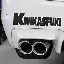 Kawasaki Kwikasfuki Motor Bike Race Car Ninja Sticker Decal Super Bike Drifting