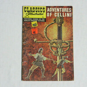 CLASSICS ILLUSTRATED #38 * Charlton Comics * 1970 Adventures of Cellini -Vintage