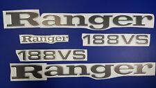"Ranger boat Emblems 29"" + 188vs* + FREE FAST delivery DHL express"