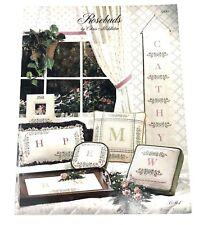Rosebuds Alphabet Cross Stitch Chart By Chris Middleton Pattern Booklet Leaflet