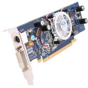 RADEON X1550 256MB DDR2 PCI-E DVI  LOW PROFILE 11093-12-20R GRAPHICS CARD