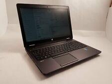 HP Zbook 15 Intel i7-4800MQ 2.7GHz 32GB RAM 500GB SSD Win10 NVIDIA Quadro K2100M