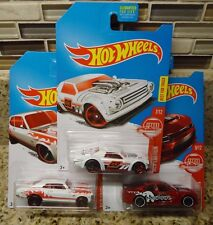 2017 Hot Wheels Target Exclusive RED EDITION Nova Charger Night Shifter Lot of 3